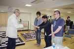 表彰式.関西支部大会開催にあたり,コンピュータ学院の皆さんには大変大きな貢献をしていただきました.